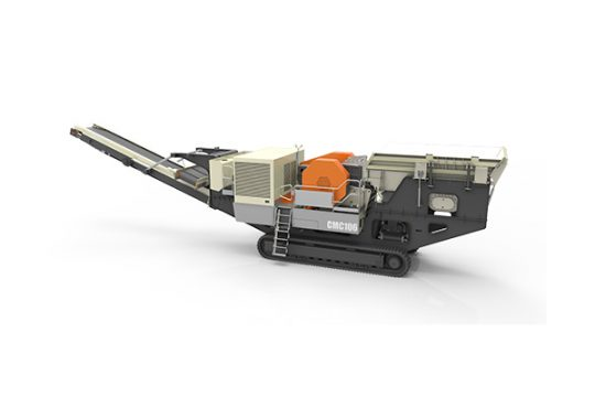 CMC Track-Mounted Mobile Jaw Crushing Plant
